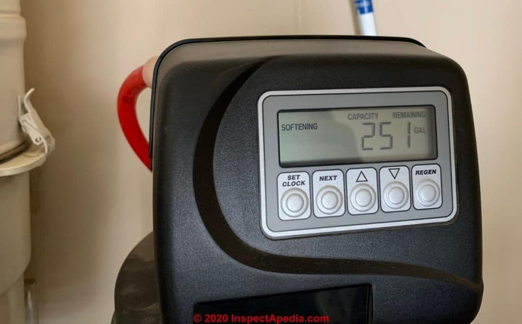 Water Softener Timer controlled
