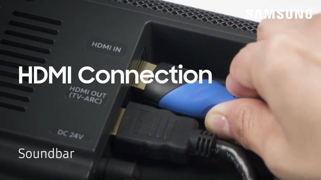 How To Connect Your Sound Bar To Your TV Via HDMI